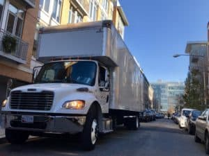 26 ft long moving truck