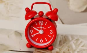 Funny alarm clock housewarming gift